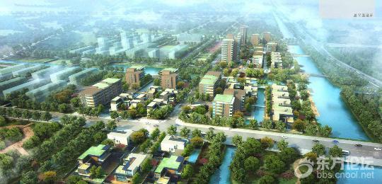 东部新城核心区规划调整 减少工业用地提高居住功能