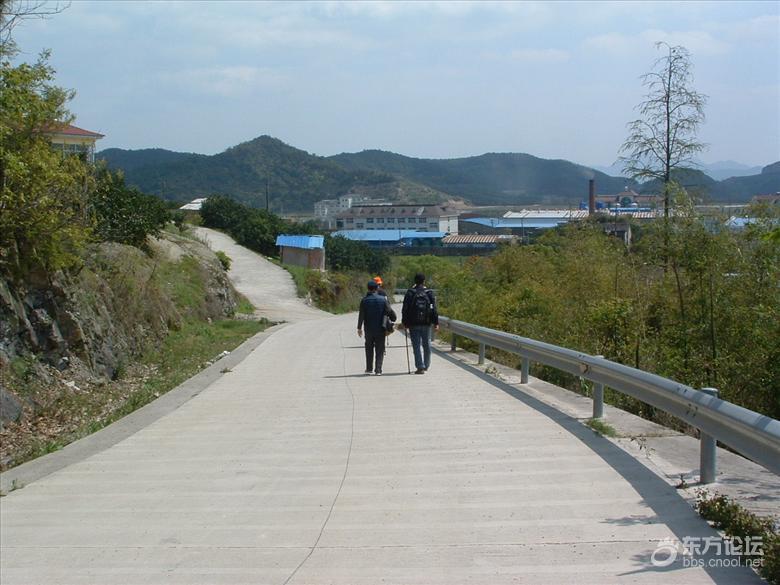 15年4月14日小分队8人游走塘溪-洪岙-百坑岭-王家山-沿海中线